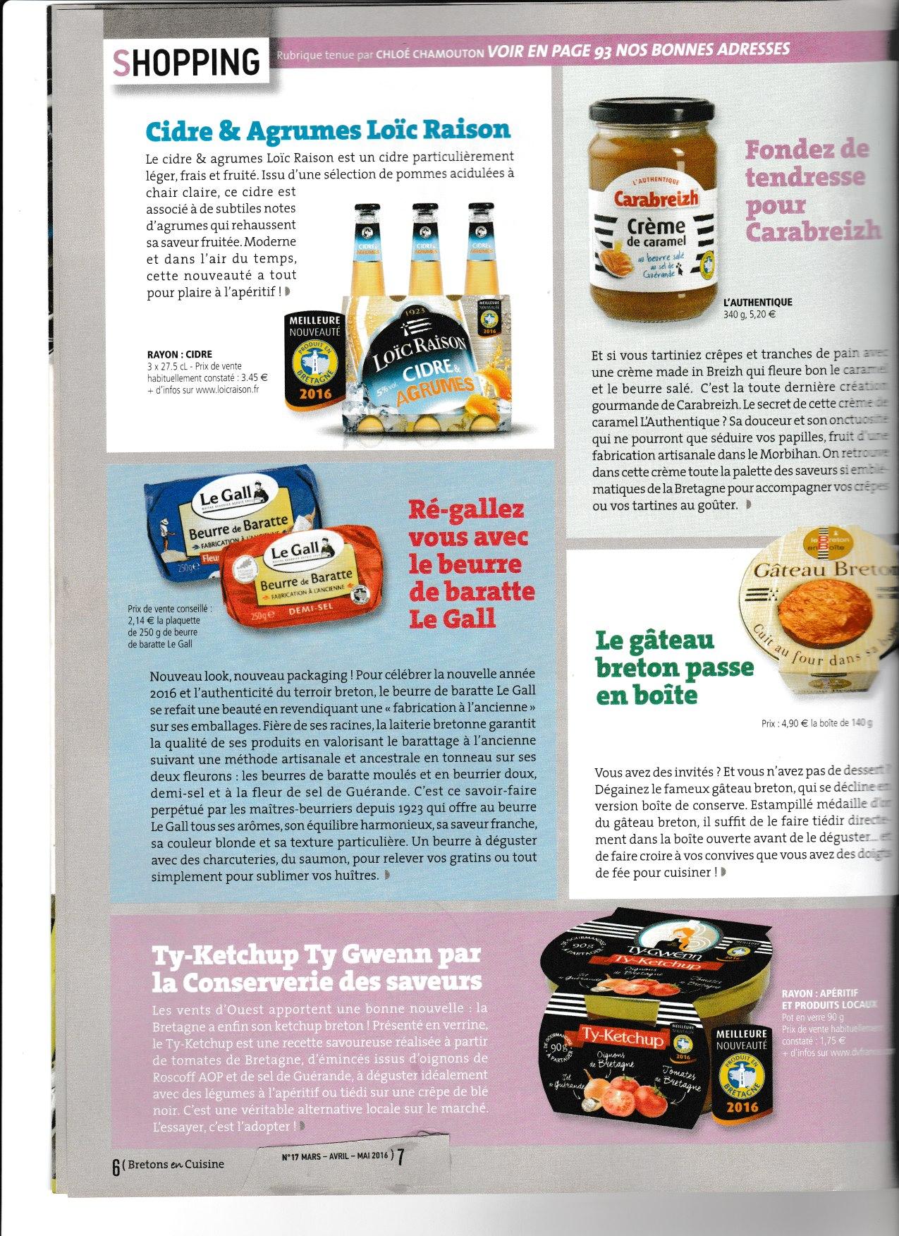 pain d'épices » merci le breton en cuisine édition juin juillet